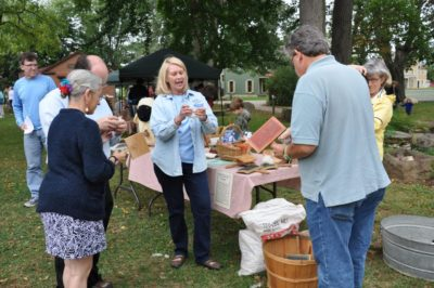 wool to weaving at the Wool Frolic