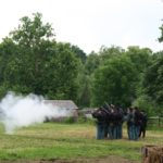Soldiers Shooting at Civil War Day