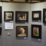 Julie Ryer display for Plein Air Competition