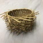 bird nest basket by Deb Hammond